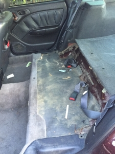 Backseat removed - what have I done???!