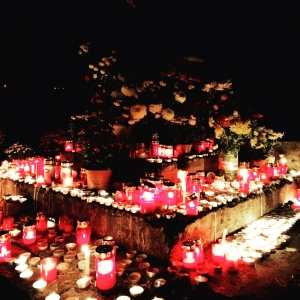 Community altar for Day of The Dead