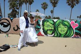 My wedding day mural by Jules Muck.