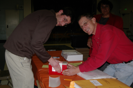 Sealing the ballot box.